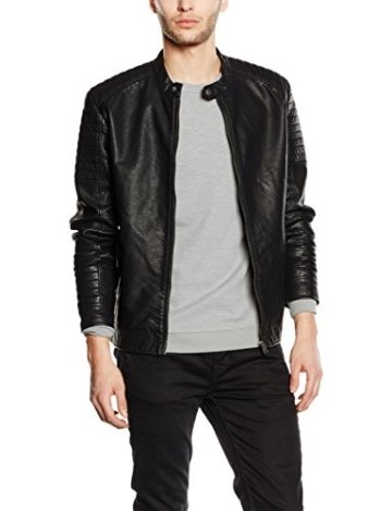 JACK & JONES  Kunstlederjacke - 1