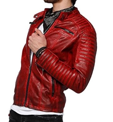 Red Bridge Herren Lederjacke Arif - 2