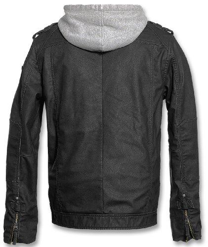 Brandit BLACK ROCK Jacke Grau M -