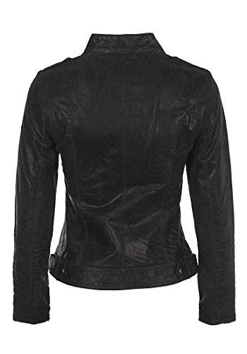 DESIRES Zalla Lederjacke, Größe:M;Farbe:Black (9000) -