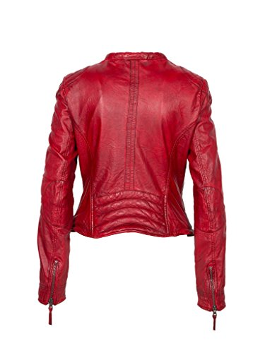 Freaky Nation Damen Jacke Chopper, Rot (Apple Red 4068), 42 (Herstellergröße: XL) -