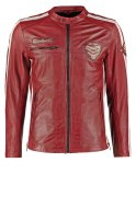 Freaky Nation DAYTONA Lederjacke dark red