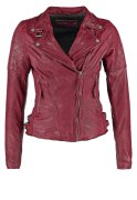 Freaky Nation GLORY Lederjacke purple red
