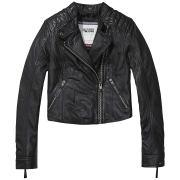 Hilfiger Denim Outdoorjacken »Leather biker 23«