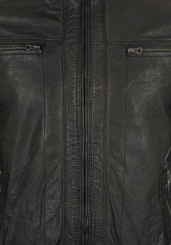 INDICODE Juan Kunstlederjacke, Größe:XL;Farbe:Black (999) -