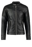 Jack & Jones JCOSMITH Kunstlederjacke black