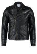 Jack & Jones JJCOFLASH Kunstlederjacke black