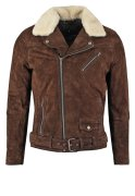 Jofama LASSE Lederjacke dark brown