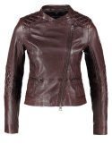 Marc O´Polo Lederjacke dark prune
