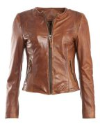 MAZE Lederjacke, Damen »March«