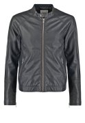 Minimum FARMAN Kunstlederjacke jet black