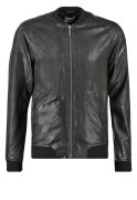 Nudie Jeans BROOK Lederjacke black