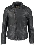 One Green Elephant MEATH Lederjacke black