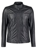 Pier One CITY Lederjacke black