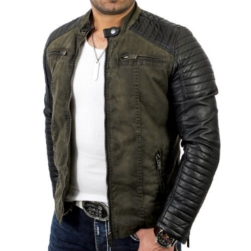 Red Bridge Herren Lederjacke Arif
