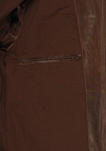 SOLID Bash Lederjacke, Größe:XXL;Farbe:Cognac (5048) -