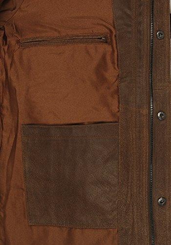 SOLID Lash Lederjacke, Größe:XXL;Farbe:Cognac (5048) -