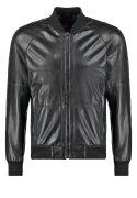 Strellson Sportswear BUTON Lederjacke black