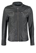 Superdry REAL HERO Lederjacke black
