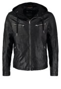 TOM TAILOR DENIM Kunstlederjacke black
