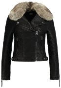 Topshop HONEY Kunstlederjacke black
