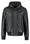 YOUR TURN Kunstlederjacke black
