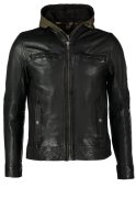 Oakwood Lederjacke black