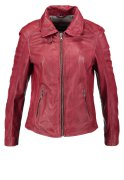 Oakwood Lederjacke bordeaux