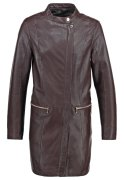 Oakwood Lederjacke burgundy