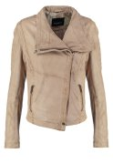Oakwood Lederjacke light beige