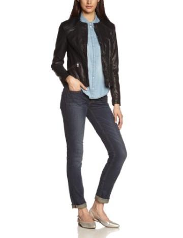 MEXX Damen Lederjacke 14BW261A Imitation Leather Jacket