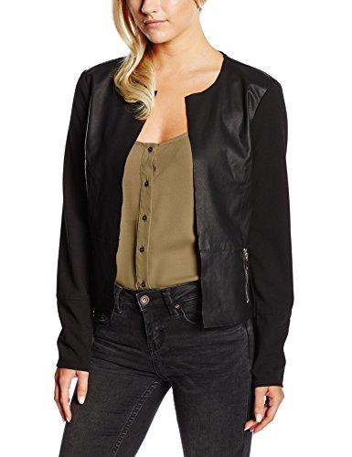 ONLY Damen Lederjacke Blazer Onlhope Kim Pu Mix Jacket Otw Noos