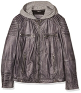 Sheego Damen Jacken Casual Lederjacke