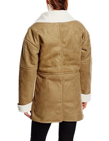 Blend Damen Lederjacke Mantel Sheapa coat -