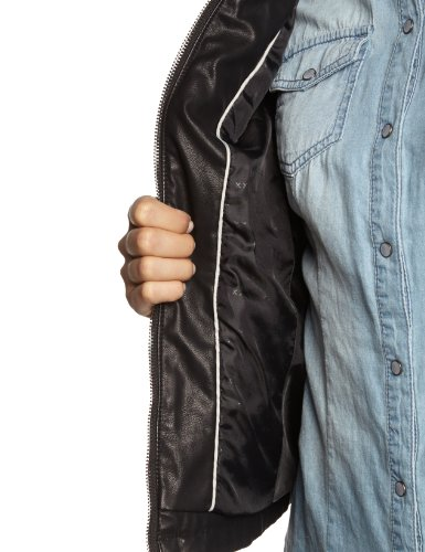 MEXX Damen Lederjacke 14BW261A Imitation Leather Jacket -