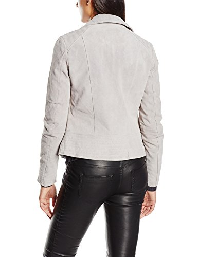 ONLY Damen Jacke Onljustine Suede Biker Jacket Otw -
