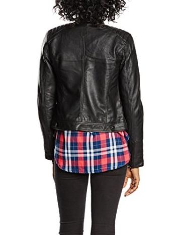 SELECTED FEMME Damen Jacke Sfhanni Ls Leather Jacket Noos -
