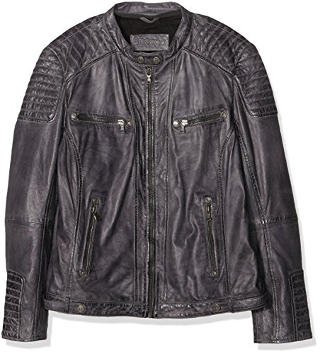 Sheego Damen Jacken Casual Lederjacke -