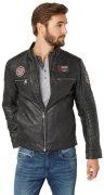 TOM TAILOR Lederjacke »Fake leather jacket«