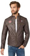 TOM TAILOR Lederjacke »Fake leather jacket«