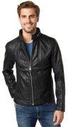 TOM TAILOR Lederjacke »faux leather jacket«