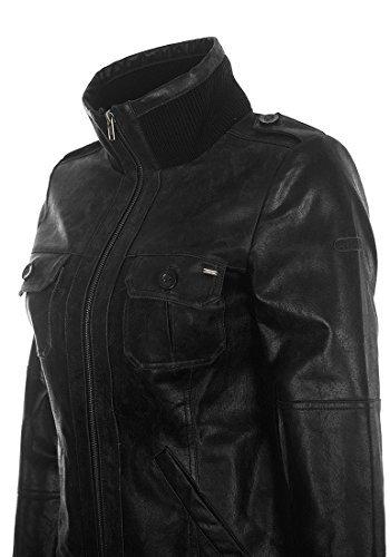 DESIRES Fame Lederjacke, Größe:M;Farbe:Black (9000) -