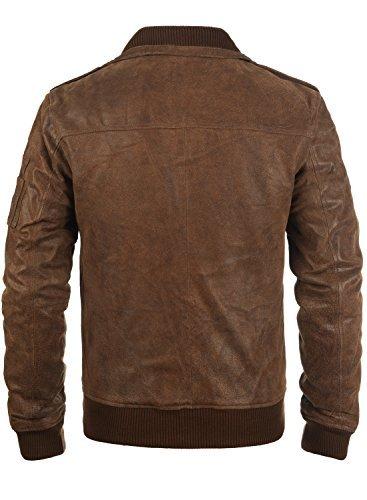 SOLID Fash Lederjacke, Größe:S;Farbe:Cognac (5048) -