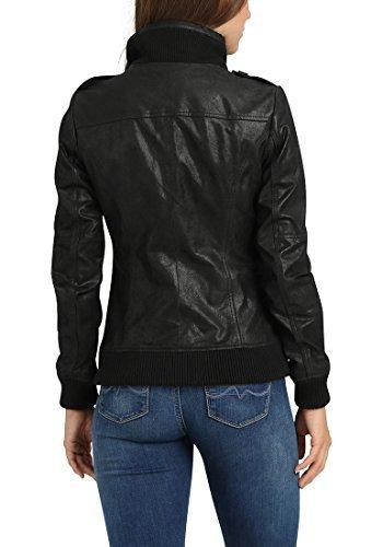 DESIRES Fame Lederjacke, Größe:XL;Farbe:Black (9000) - 6