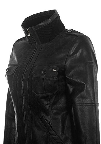 DESIRES Fame Lederjacke, Größe:XL;Farbe:Black (9000) - 7
