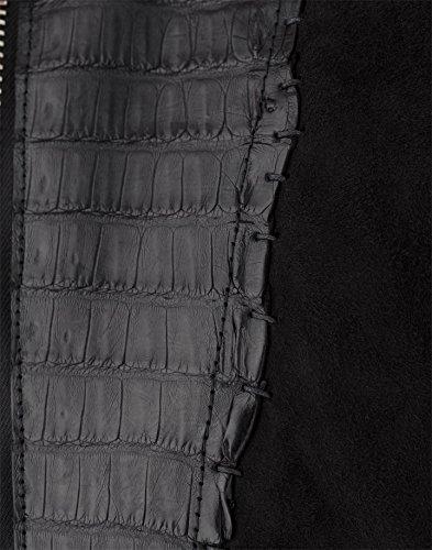 """PHILIPP PLEIN CAYMAN LEDERJACKE VELOUR """"RIVER"""" Size: L,XL,XXL,XXXL - 4"""