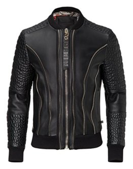 "PHILIPP PLEIN LEDERJACKE ""COMMON"" Size: L, XL, XXL - 1"