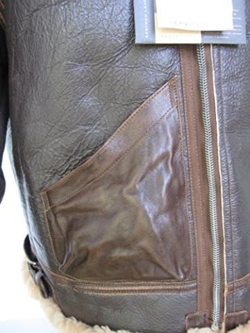 US B3 Eastman Flight Jacket Fliegerjacke .50 Cal Leatherjacket (40) - 7