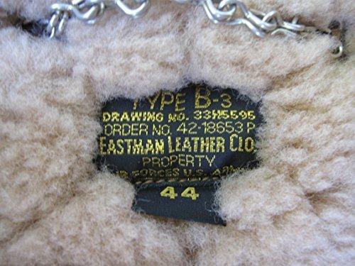 US B3 Eastman Flight Jacket Fliegerjacke .50 Cal Leatherjacket (40) - 9