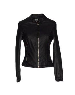 DELAN Damen Jacke Farbe Schwarz Größe 5